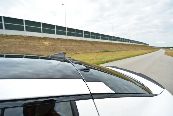Heck Spoiler Aufsatz Abrisskante passend für KIA STINGER GT schwarz matt