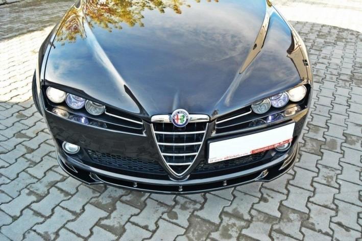 Cup Spoilerlippe Front Diffusor Schwarz v.1 Alfa Romeo 159