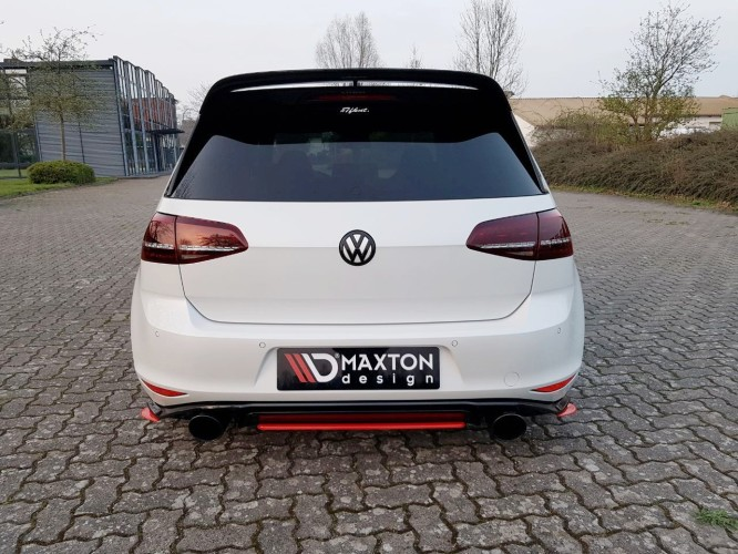 Heck Ansatz Diffusor Flaps Cup Diffusor Vw Golf 7 Gti Clubsport